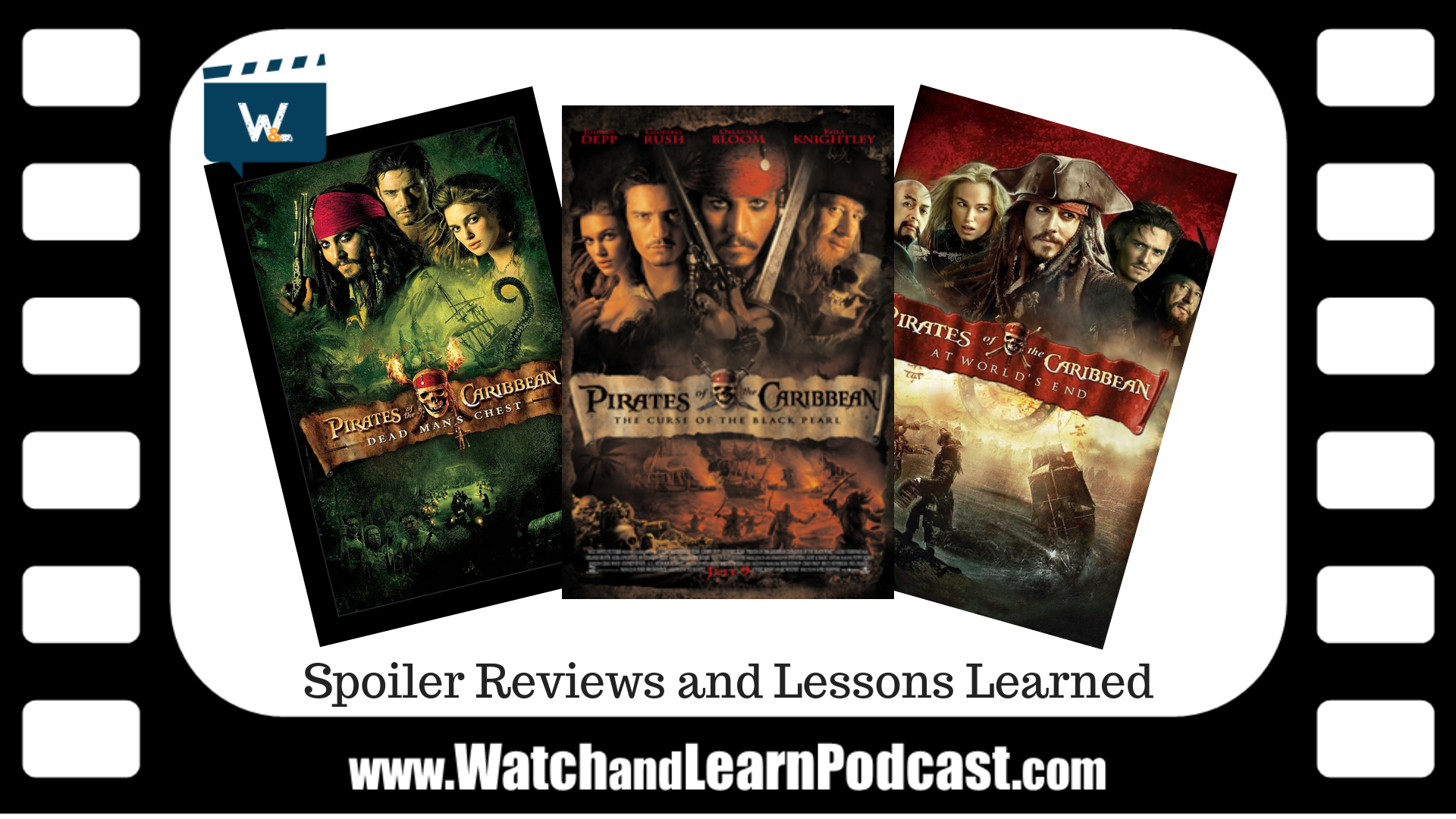 Pirates of the Caribbean Trilogy spoiler review and lessons learned