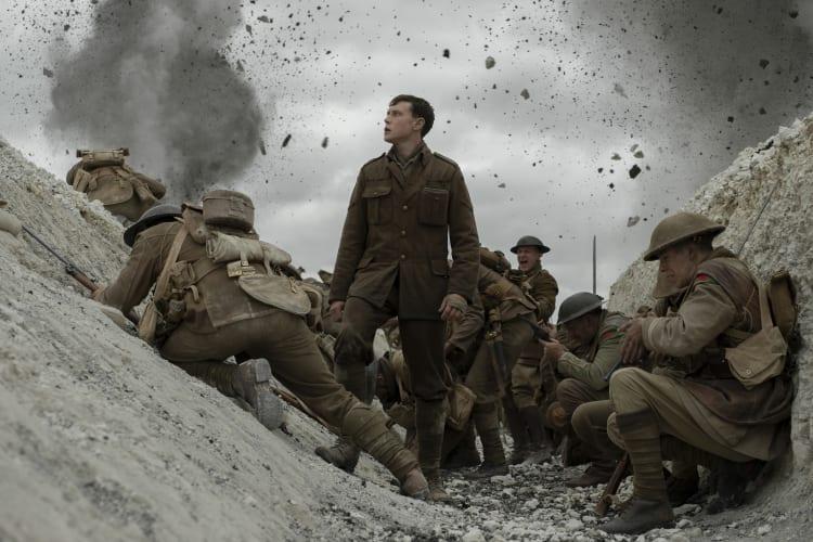 1917 Lance Corporal Schofield hero shot