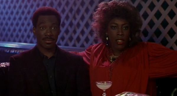 "Arsenio Hall playing ""Extremely Ugly Girl"" in Coming to America"